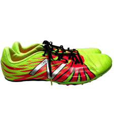 New Balance SD100 Track Field Spike Shoes Mens Size 13 Neon Yellow MSD100YP