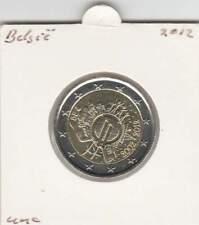 België 2 euro 2012 UNC : 10 Jaar Euro munt