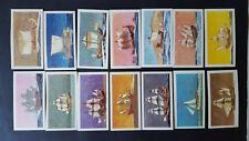 THE SAGA OF SHIPS 1970 - 49/50 Brooke Bond Tea Cards - PART SET