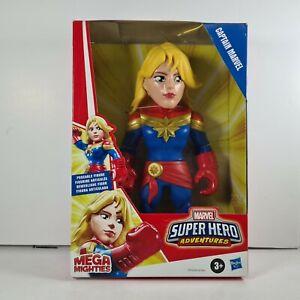 Hasbro Mega Mighties Marvel Super Hero Adventures Captain Marvel Action Figure