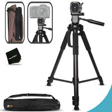 Durable Pro Grade 72 inch Tripod For Canon EOS Rebel T3i 600D DSLR Cameras