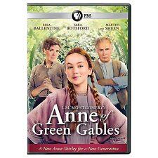 ANNE OF GREEN GABLES (2016 Ella Ballentine) - DVD - Sealed Region 2 compatible