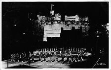 B89511 floodlighting edinburgh castle and tattoo scotland