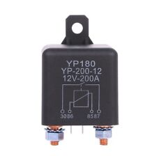12v DC 200a High Power Car Relay Truck Motor Continuous Automotive Switch