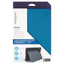 "Targus EverVu Case 9.7"" Samsung Galaxy Tab A Tablet - Blue NO PACKAGING"