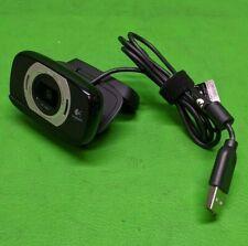 Logitech HD 1080p Black USB Webcam V-U0027 **Plug and Play**