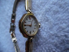 Caravelle Watch 1/20 10kt Gold Band 160-31BB9
