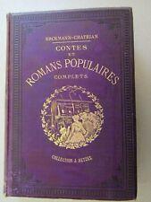 Hetzel / Magnier / Contes et romans populaires complets / Erckmann-Chatrian