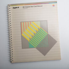 VINTAGE Apple II 80-Column Text Card Manual Apple IIe Only with Errata card