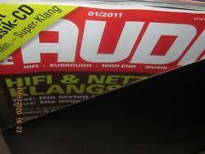 Audio Hifi Magazin Zeitschrift ,kompletter Jahrgang 2011 Heft 1-12