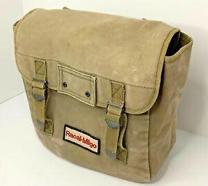 Vintage Retro Racal-Milgo Canvas Backpack Advertising 1991