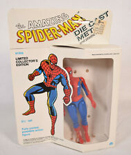 Amazing Spider-Man Marvel Action Figure Diecast Metal Mego 1979 MIB New