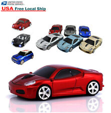 2.4Ghz Wireless USB car mouse Cordless Optical Game Laptop PC Notebook MAC Mice