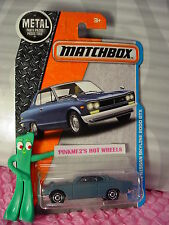 2017 MATCHBOX #11 '71 NISSAN SKYLINE 2000 GTX☆Matte blue☆Adventure City☆Case F