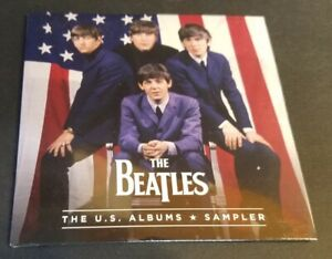 THE BEATLES U.S. Albums SAMPLER CD New FACTORY SEALED PROMO ONLY 25 tracks