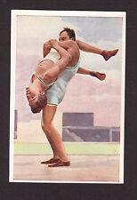 Jiu Ju Jitsu Vintage 1932 Sanella Sports Card
