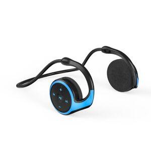 Bluetooth Wireless Earphone Headphones Gaming Headset Pc Stereo TF FM Radio MP3