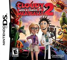 Cloudy With a Chance of Meatballs 2 DS