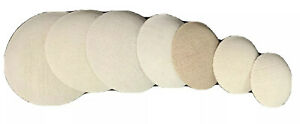 "5"" Diameter Buckram Pate New Doll Part  for Bisque Doll Head Cover Under Wig"