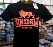 Camiseta hombre Lonsdale manga corta cuello redondo con estampado logo art 28578