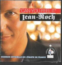 CD SINGLE 2 TITRES--JEAN ROCH--CAN YOU FEEL IT--2004--NEUF / SEALED