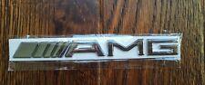 Mercedes AMG Silver Sticker Badge Emblem Best Quality UK Stock