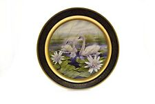 Pickard China Collector Plate Lockhart 1980 Trumpeter Swan 1489/2000