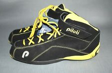 New with Tags Piloti Ingels Driving Race Shoes Race Black Yellow Size 13