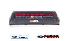 03-07 Ford 6.0 6.0L Powerstroke Diesel Oem Fan Shroud Cover Fan Warning Label