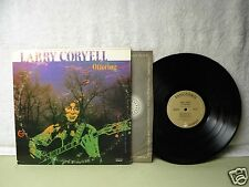 Larry Coryell LP Offering Very Clean 1972 Jazz Guitar 33 RPM Psych Orig!