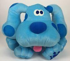 1998 Tyco Blue's Clues So Big Barking Blue Plush Talking Dog Jumbo 20� 39124