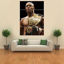Anderson Silva UFC NUOVO GIGANTE GRANDE ART PRINT POSTER QUADRO muro g1149
