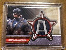 CAPTAIN AMERICA - FIRST AVENGER - PATCHES - CAPTAIN AMERICA PATCH CARD - I2