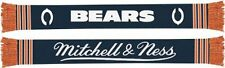 CHICAGO BEARS Mitchell & Ness Reversible Vintage NFL Scarf