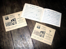 16 compositions Joseph Graff pour orchestre batterie 1er baryton Si b 1er piston