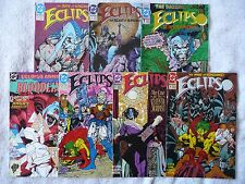 ECLIPSO • mixed lot of seven comics • #1 to #11 + Annual #1 (DC 1992-93) • Mint!