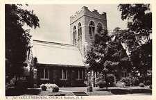 Roxbury New York Jay Gould Memorial Church Real Photo Antique Postcard K53108