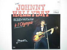 Johnny Hallyday 33Tours vinyle Johnny Live à L'olympia 1962 pressage 2017