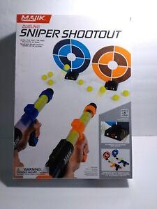 Majik Dueling Sniper Shootout Electronic Target Game Toy New