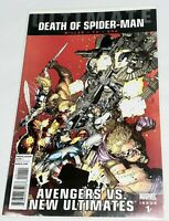 DEATH OF SPIDER-MAN # 1 Ultimate Avengers vs New Ultimates Excellent unread 2011