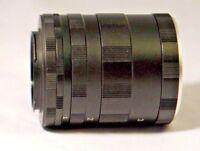 extension macro tube set Lens unknown mount