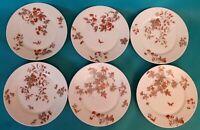 SIX ASSIETTES PLATES  EN PORCELAINE DE LIMOGES   Ref 292830508331