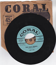 JUDY CLAY- CORAL 61807 PROMO COUNTRY BOPPER 45RPM NEW SALLY GOODIN VG++