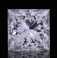 3.1mm SI CLARITY PRINCESS-FACET NATURAL AFRICAN DIAMOND (G-I COLOUR)