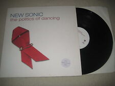 "NEW Sonic-the Politics of Dancing Vinyl 12"" MAXI"