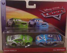 Disney Pixar Cars ~ ladrillo Yardley & Cal los climas ~ Florida 500 DIE-CAST 2 Pack