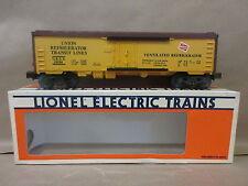 Lionel 6-19500 Milwaukee Road Reefer Union Refrigerator Transit Line Model Train