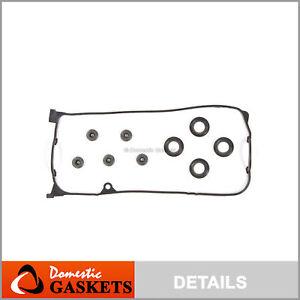 Valve Cover Gasket Set fit 01-05 Honda Civic 1.7L SOHC D17A1 D17A2 D17A6 D17A7