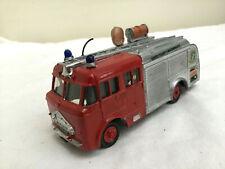 DINKY Code 3 Fire Engine  - DERBYSHIRE FIRE BRIGADE