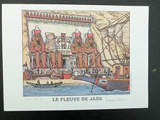 MARTIN MORALES ex-libris signé Alix Fleuve de jade A4